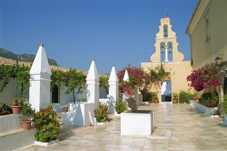 Paleokastritsa manastir